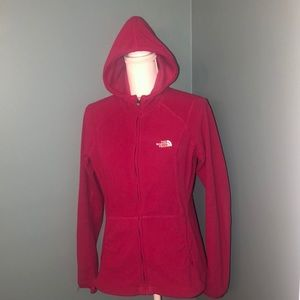 Women's size medium The North Face full zip hoodie
